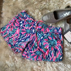 Lilly Pulitzer Jersey Shorts Size S